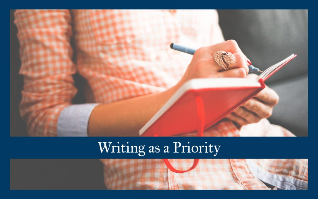Writing as a Priority
